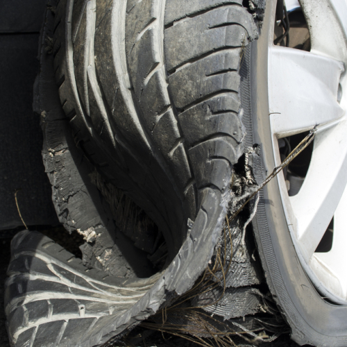 Tips for Handling a Tire Blowout