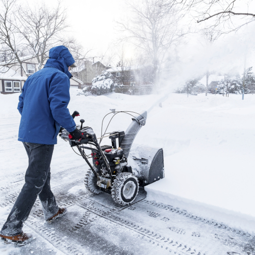 Don't Blow It: Use Your Snow Blower Safely