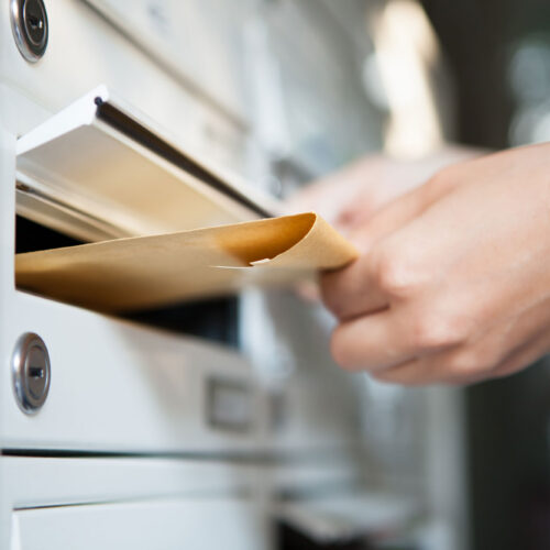 PROTECT YOURSELF AGAINST MAIL DELIVERY DELAYS