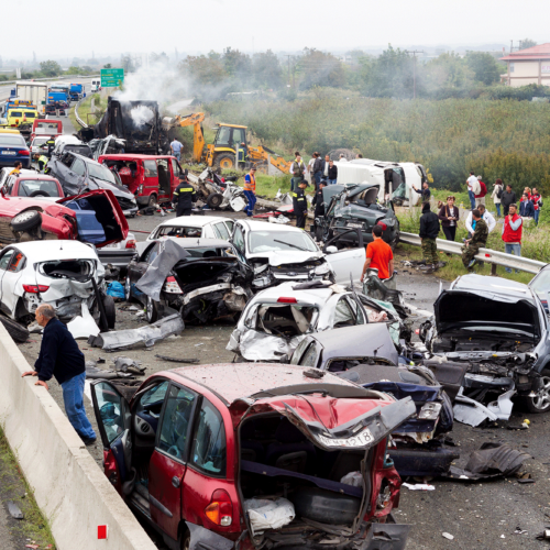 How Does Auto Insurance Work for Multicar Pile-Ups?