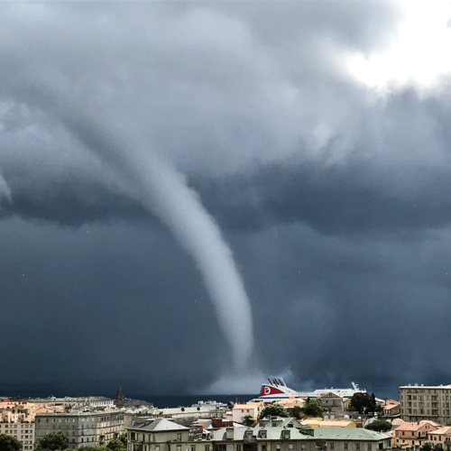 Tornado Facts & Safety Tips [Infographic]